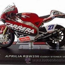 Motos a escala: APRILIA RSW 250 - CASEY STONER 2005. Lote 76657269