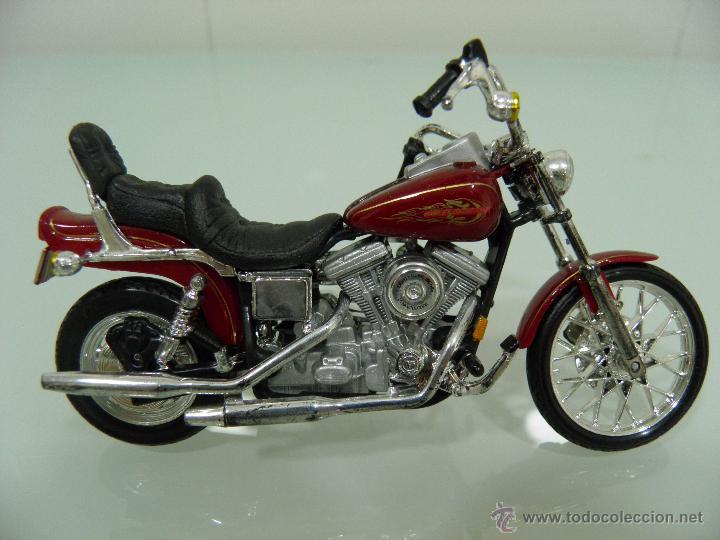 Motos a escala: 15 MOTOS /18, MAISTO, BMW, HARLEY-DAVIDSON, YAMAHA, KAWASAKI, HONDA, DUCATI, PEUGEOT, INDIAN - Foto 16 - 50855092