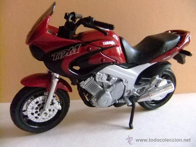 MOTO YAMAHA TDM TWIN 850 MAISTO (Juguetes - Motos a Escala)