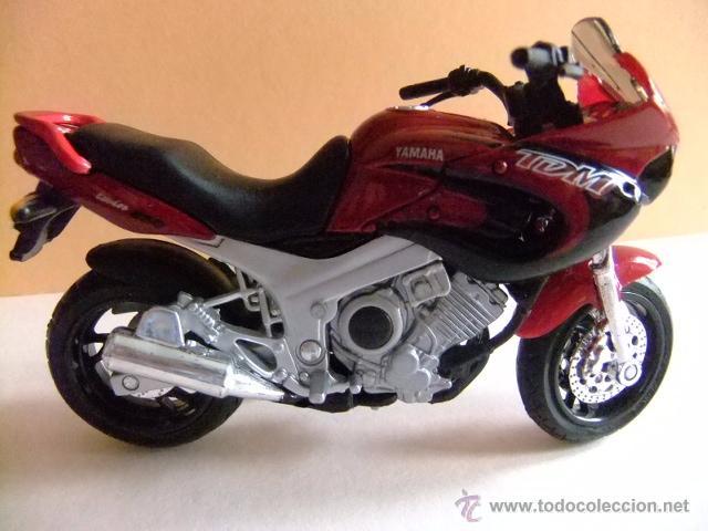 Motos a escala: MOTO YAMAHA TDM TWIN 850 MAISTO - Foto 2 - 50773349