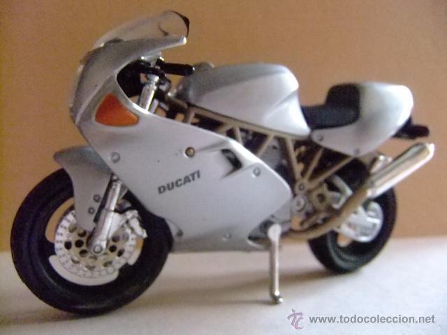 MOTO DUCATI MH 900 E MAISTO (Juguetes - Motos a Escala)