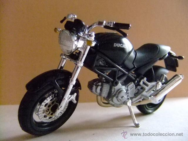 Motos a escala: MOTO DUCATI MONSTER 696 MAISTO - Foto 1 - 53318562