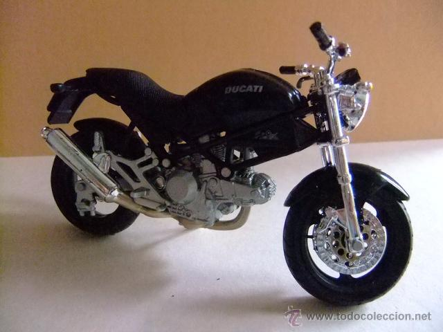 Motos a escala: MOTO DUCATI MONSTER 696 MAISTO - Foto 2 - 53318562