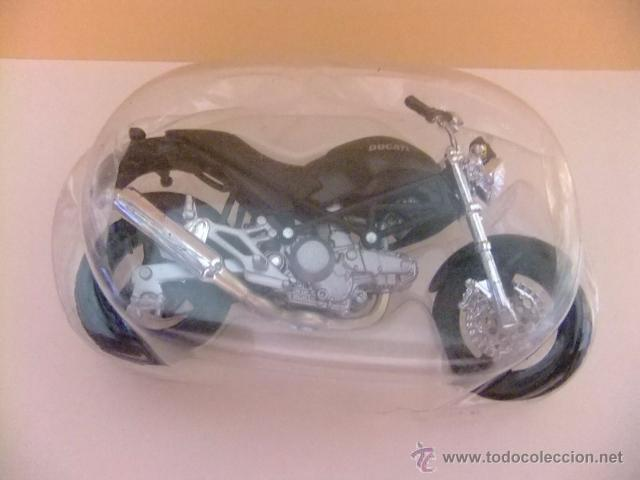 Motos a escala: MOTO DUCATI MONSTER 696 MAISTO - Foto 3 - 53318562