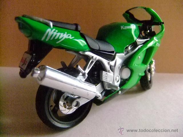 Motos a escala: MOTO KAWASAKI ZX 12 NINJA MAISTO - Foto 2 - 50774218