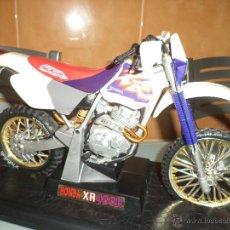 Motos a escala: HONDA XR 400 R DE 1996.ESC.1/13.MOTOCROSS COMPETICIÓN.. Lote 70063646