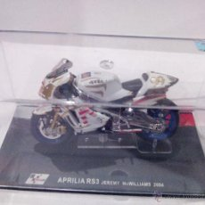 Motos a escala: APRILIA RS3 JEREMY MCWILLIAMS 2004 ALTAYA. Lote 52377379