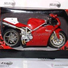 Motos in scale: DUCATI 998 S 1/12 NEW RAY MOTO EN MINIATURA. Lote 52399356