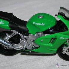 Motos a escala: MOTO A ESCALA KAWASAKI ZX 12 NINJA, MAISTO, ZX-12. Lote 52828157