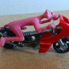 Motos a escala: CORGI TOYS---MOTO PANTERA ROSA. Lote 52841554