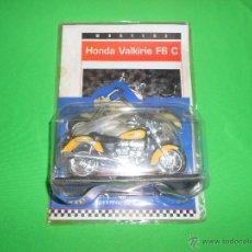 Motos a escala: HONDA VALKIRIE F6 C + FICHA (SIN NUMERO) - NUEVA EN SU BLISTER - SUPER MOTOS - MOTOCICLISMO. Lote 54288542