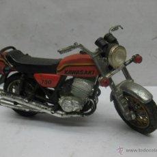 Motos a escala: ANTIGUA MOTO KAWASAKI 750. Lote 55021079