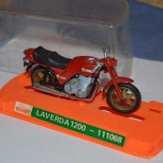 Motos a escala: GUILOY - MADE IN SPAIN - LAVERDA 1200 - REF. 111068 - ORIGINAL Y ANTIGUA ¡MIRA!. Lote 56106864