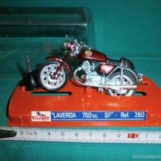 Motos a escala: MOTO GUILOY LAVERDA 750 CC SF REF 280. Lote 208284193