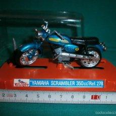 Motos a escala: MOTO GUILOY YAMAHA SCRAMBLER 350 CC REF 278. Lote 56895060