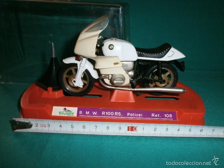 MOTO GUILOY BMW R 1000 RS POLIZEI REF 108 (Juguetes - Motos a Escala)