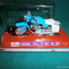 Motos a escala: MOTO GUILOY LAVERDA 750 CC SF POLI REF 294. Lote 56895413