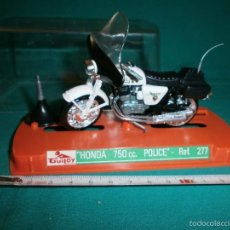 Motos a escala: MOTO GUILOY HONDA 750 CC POLICE REF 277. Lote 56895748