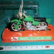Motos a escala: MOTO GUILOY SUZUKI GT 750 REF 289. Lote 56895960