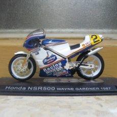 Motos a escala: MOTO HONDA NSR 500 WAYNE GARDNER 1987 SIN CAJA. Lote 56938153