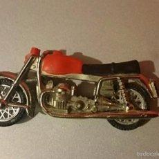 Motos a escala: MOTO GUZZI GUISVAL AÑOS 70 80 NÚMERO 205( CREO) . Lote 57353453