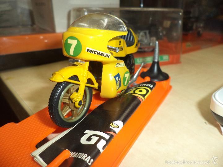 Motos a escala: Moto GUILOY.Made in Spain años 70.Escala 1/24.Yamaha Carrera.Ref 098. - Foto 2 - 211259972