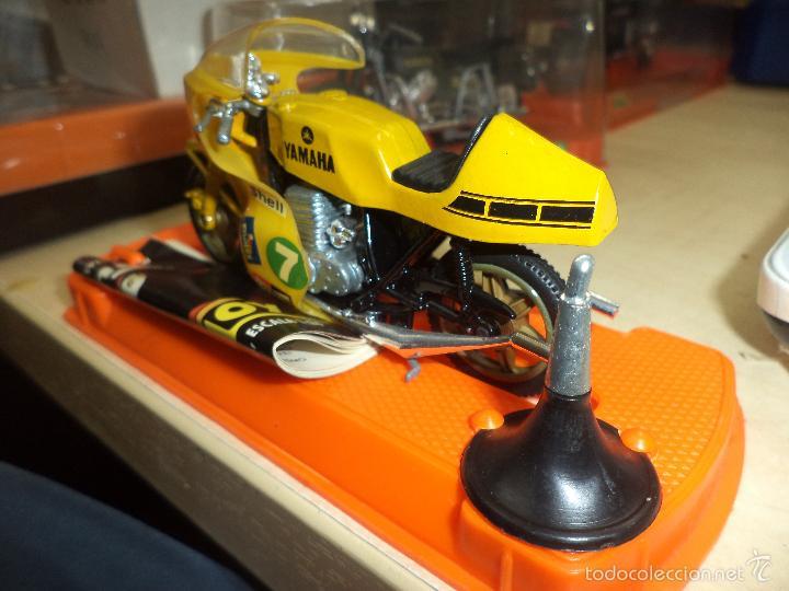 Motos a escala: Moto GUILOY.Made in Spain años 70.Escala 1/24.Yamaha Carrera.Ref 098. - Foto 3 - 211259972