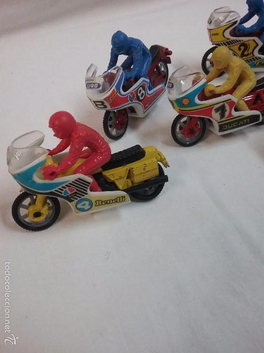 Motos a escala: LOTE DE 5 MOTOS PREMIUM PUBLICIDAD DE GALLETAS SIRO - Foto 3 - 58351255