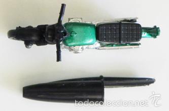 Motos a escala: ANTIGUA MOTITO MATCHBOX HONDARORA - MOTO HONDA A ESCALA DE JUGUETE - VINTAGE - CON CAJA - TRANSPORTE - Foto 3 - 60730319