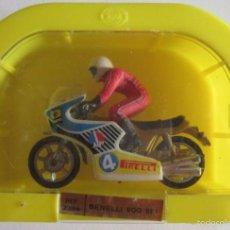 Motos a escala: MOTO BENELLI 900 SEI REF. 2304, DE MIRA, EN CAJA. CC. Lote 60902091