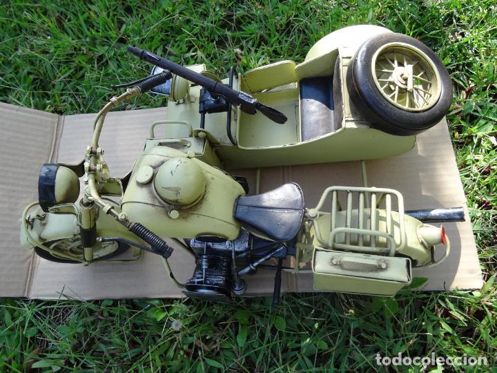 Motos a escala: Moto con sidecar II WW escala 1:6 - Foto 2 - 79134341