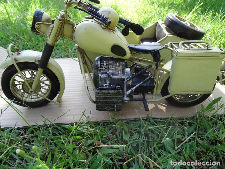 Motos a escala: Moto con sidecar II WW escala 1:6 - Foto 3 - 79134341