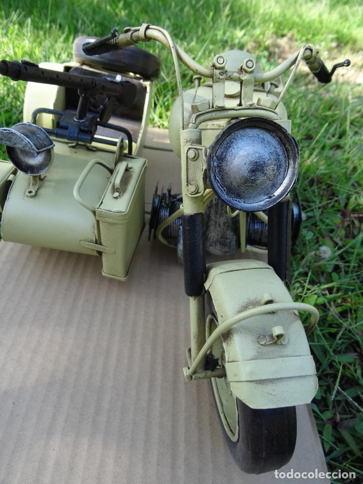 Motos a escala: Moto con sidecar II WW escala 1:6 - Foto 4 - 79134341