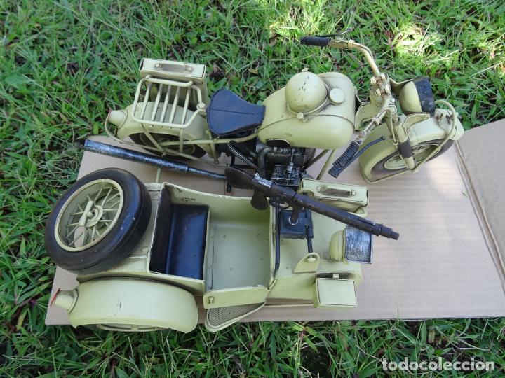 Motos a escala: Moto con sidecar II WW escala 1:6 - Foto 5 - 79134341