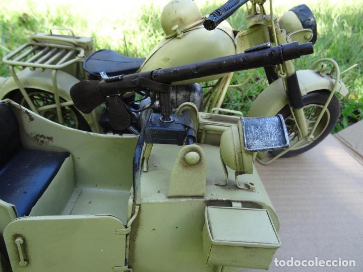 Motos a escala: Moto con sidecar II WW escala 1:6 - Foto 6 - 79134341