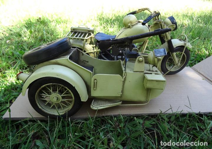 Motos a escala: Moto con sidecar II WW escala 1:6 - Foto 7 - 79134341
