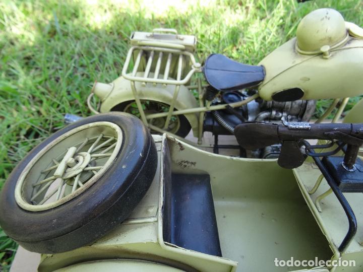 Motos a escala: Moto con sidecar II WW escala 1:6 - Foto 8 - 79134341