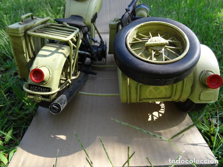 Motos a escala: Moto con sidecar II WW escala 1:6 - Foto 9 - 79134341