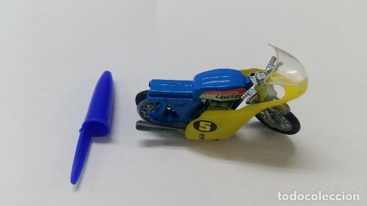 MOTO GUISVAL LAVERDA (Juguetes - Motos a Escala)