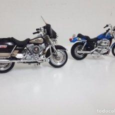 Motos a escala: 2 HARLEY DAVIDSON.. Lote 64965891