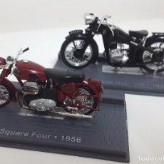 Motos a escala: ARIEL DE 1956 Y GNOME RHONE DE 1934.. Lote 64978971