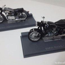 Motos a escala: BORRÓN DE 1956 Y BMW DE 1961.. Lote 64981715