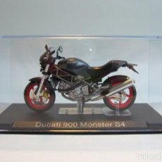 Motos a escala: MOTO DUCATI 900 MONSTER S4 ALTAYA 1/24. Lote 67037970