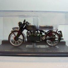 Motos a escala: MOTO VINCENT HRD BLACK SHADOW 1954 ALTAYA 1/24. Lote 145472860