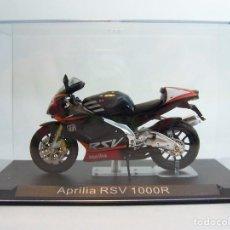 Motos a escala: MOTO APRILIA RSV 1000R ALTAYA 1/24. Lote 67341521