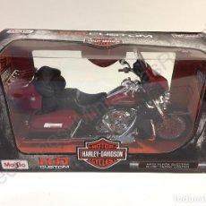 Motos a escala: HARLEY DAVIDSON MOTOR CYCLES - FLHTK ELECTRA GLIDE ULTRA LIMITED 2013 - MOTO 1:12. Lote 69475881