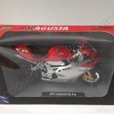 Motos a escala: MV AGUSTA F4 - MOTO DE CALLE 1:12. Lote 70077349