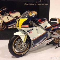 Motos a escala: MINICHAMPS HONDA NSR 500 Nº1 E. LAWSON GP 1989. CLASSIC BIKE SERIES Nº 32. Lote 71912479
