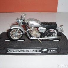 Motos a escala: MOTO NORTON COMANDO MK 3 INTERSTATE 1977 GUILOY. Lote 72214971