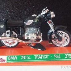 Motos a escala: GUILOY. BMW 750CC TRÁFICO. MOTO REF 279 ORIGINAL AÑOS 70 CON CATÁLOGO. Lote 73591771